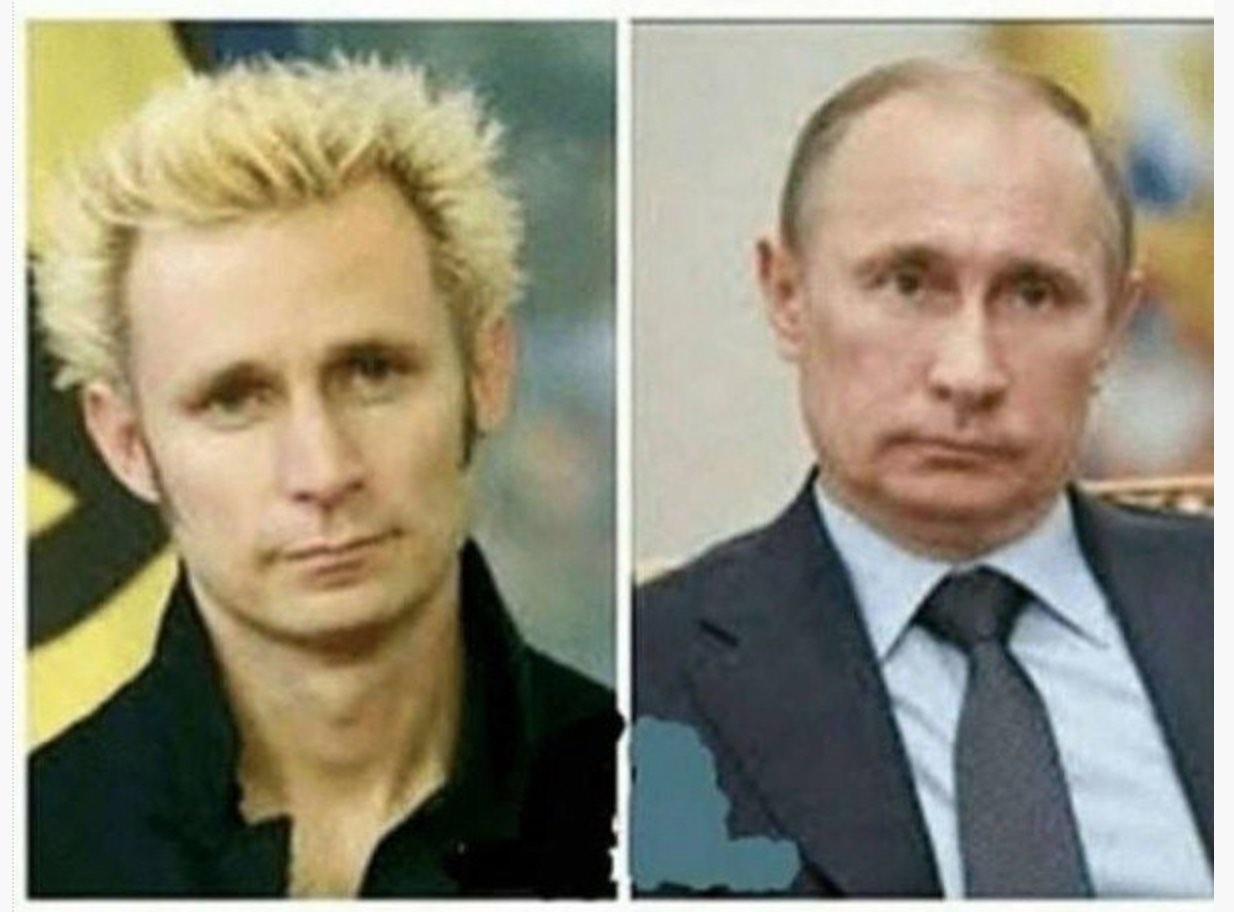Greenday-bändin basisti Mike Dirnt vs Putin